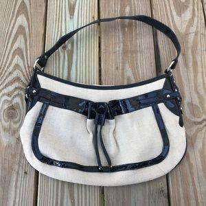 Handbags - Womens Handbag Black Tan Converse Bag Shoulder Bag